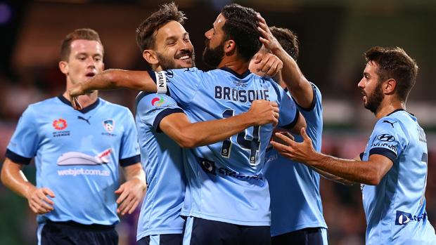 A-League Rd 11 - Perth v Sydney