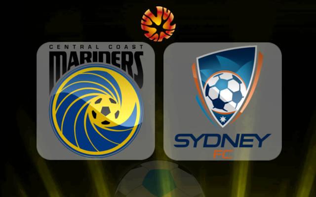 Kết quả hình ảnh cho Central Coast vs Sydney FC