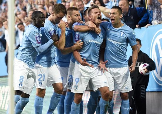 Fotboll, Champions League, Kval, Malmö FF - Salzburg