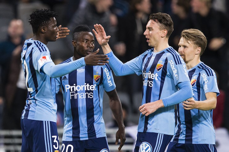 Fotboll, Träningsmatch, Djurgården - Ålesund