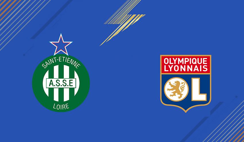 Kết quả hình ảnh cho St Etienne vs Lyon